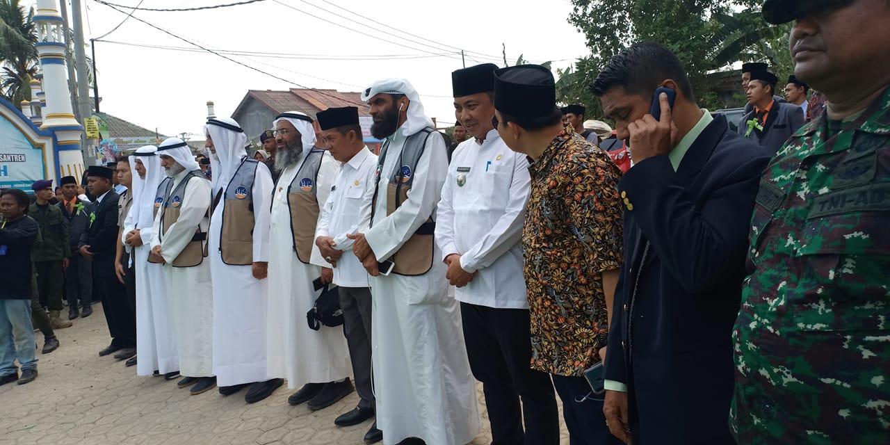 Walikota Serang Menyambut Kedatangan Tamu Dari Negara KUWAIT