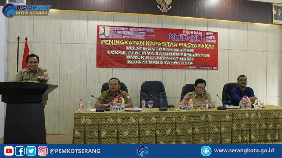 Pembukaan Sekaligus Pengukuhan 6 Forum BPM se Kecamatan di lingkungan Kota Serang