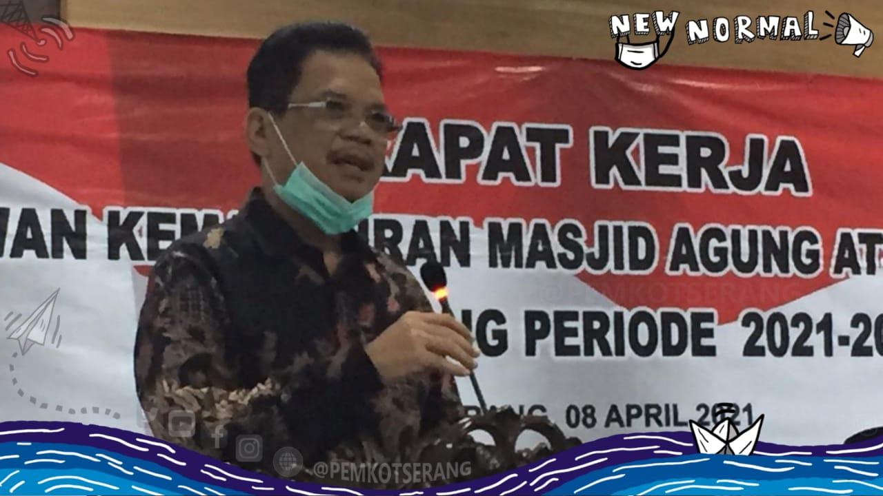 Nanang Saefudin: Masjid Agung Ats-Tsauroh harus menjadi contoh