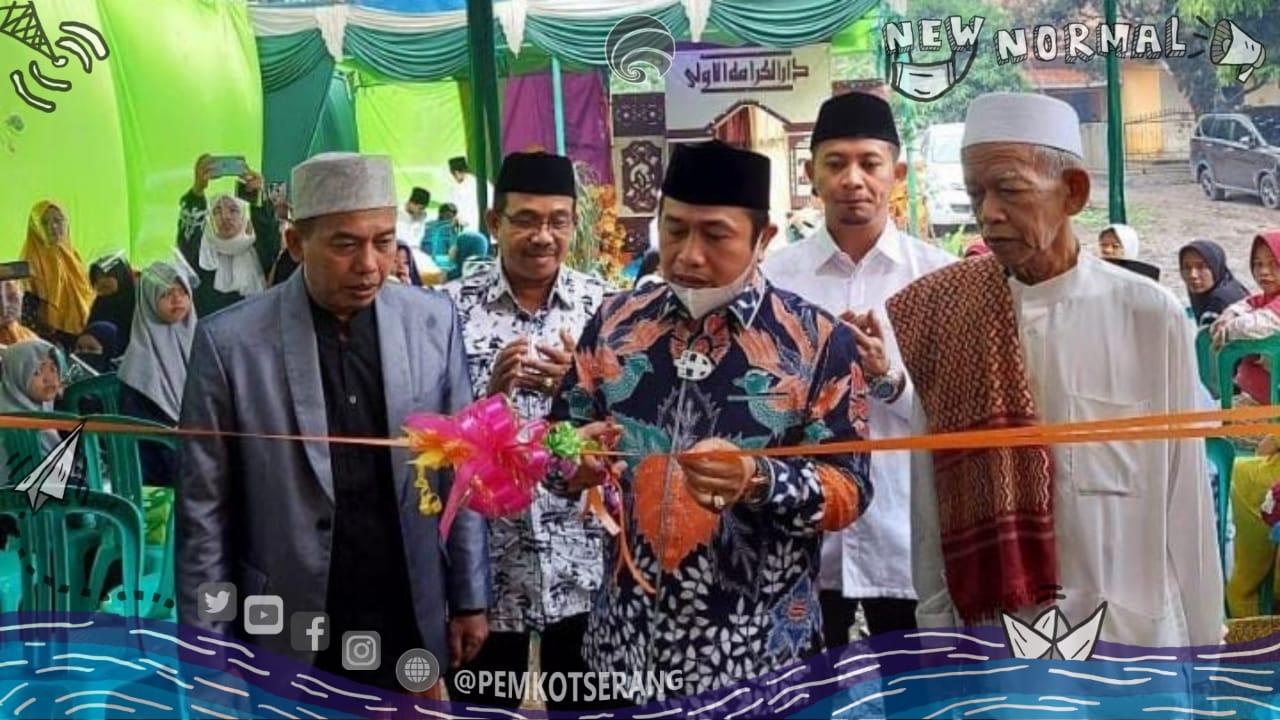 Wakil Walikota Serang Hadiri Walimatul Khotamiah & Peresmian Pondok Pesantren Salafi Darul Karomah Ula