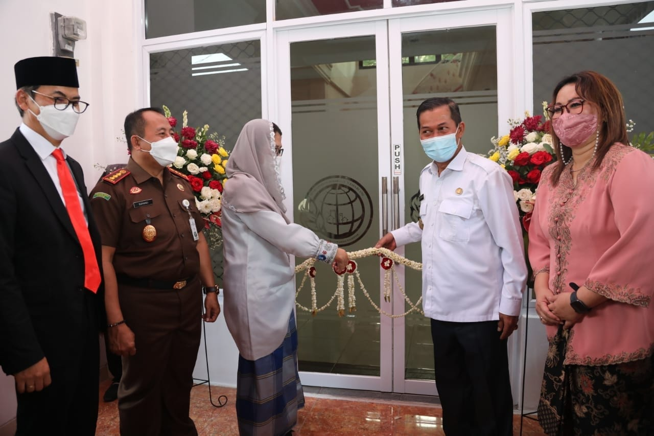 Peresmian Kantor Perwakilan Pertanahan Kota Serang.