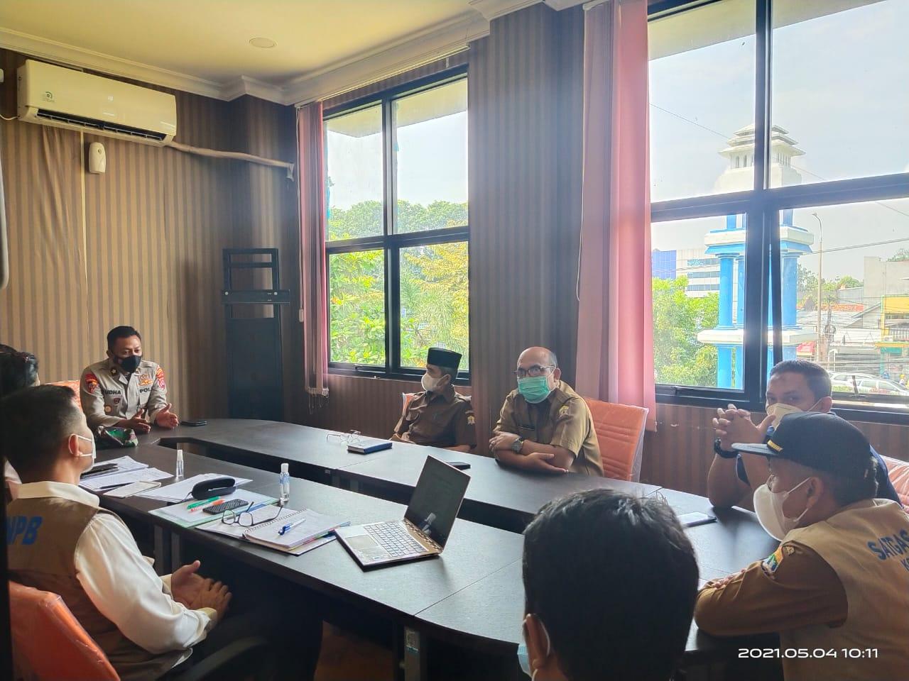 Pemkot Serang terima Kunjungan Satuan Tugas Penanganan Covid-19 Pusat
