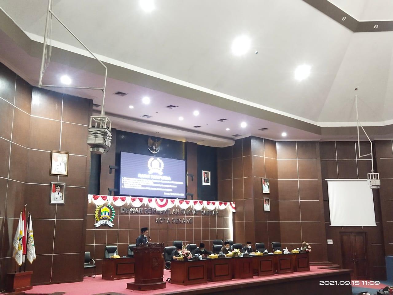 FRAKSI Partai Nasdem Menjadi Ketua Komisi II DPRD Kota Serang bidang ekonomi kesejahteraan Rakyat.