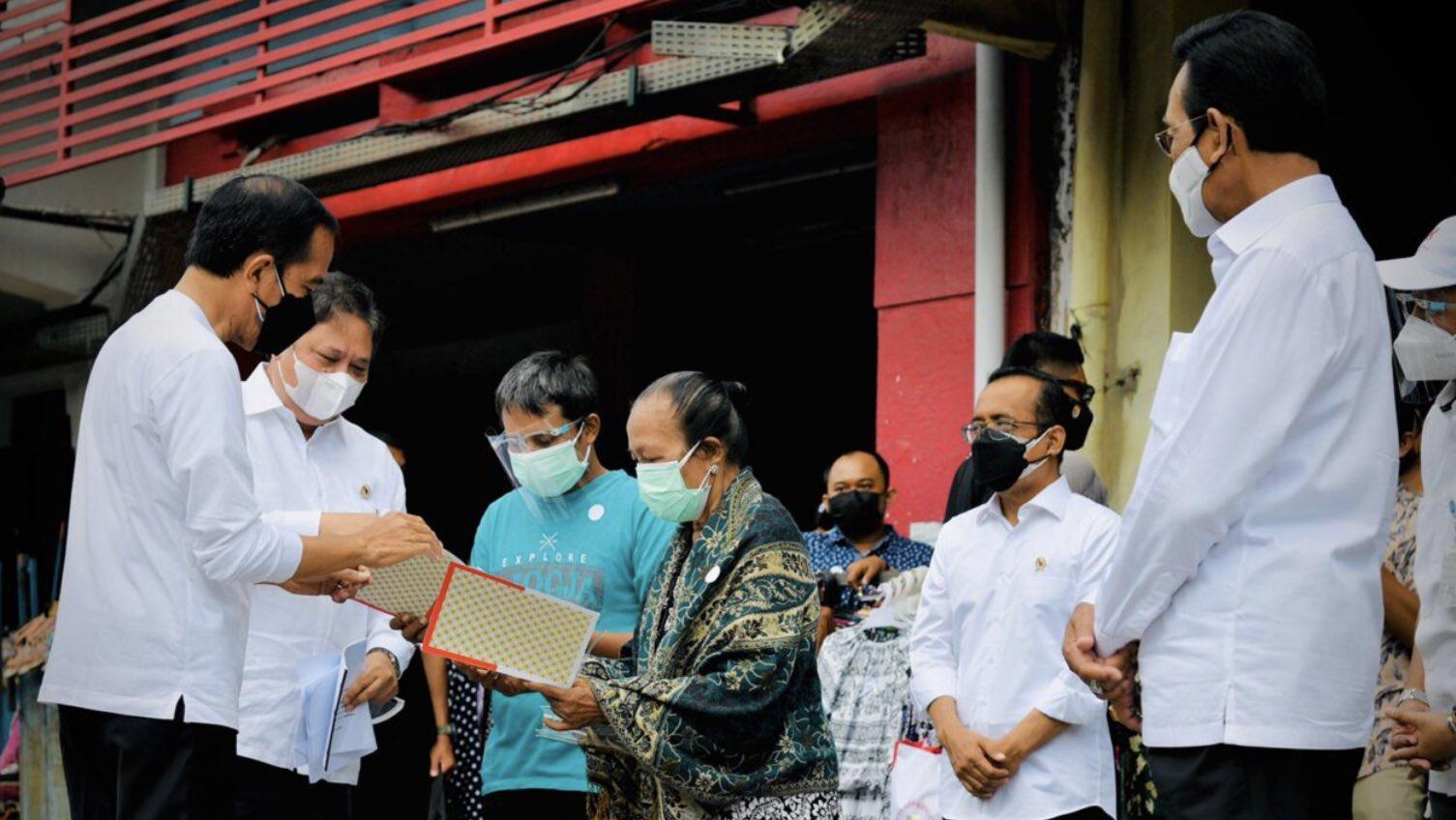 Presiden Resmikan Peluncuran BT-PKLW Pertama di Kawasan Malioboro