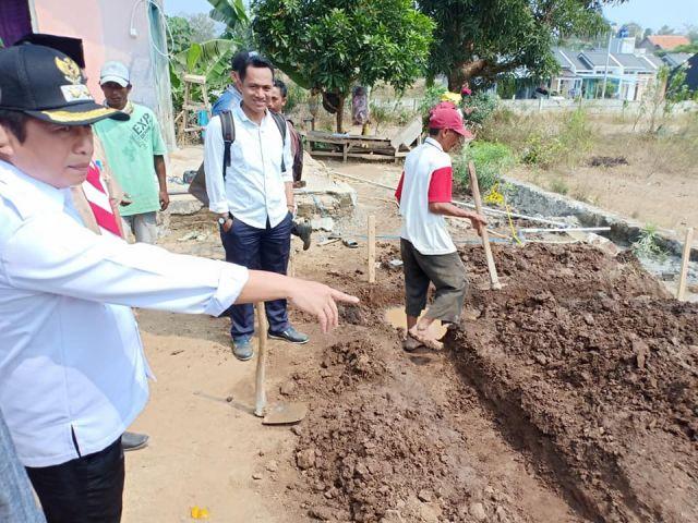 Peletakan Pembangunan Bangunan Rumah Kumuh