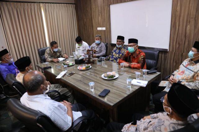 Audiensi Pengurus Muhammadiyah Provinsi Banten dengan Wali Kota Serang.