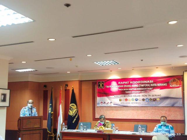 Kepala Kantor Kantor Imigrasi Kelas 1 Non TPI Kota Serang : Mengajak menggunakan aplikasi APOA di Kota Serang