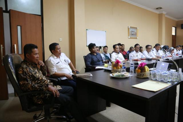 Rapat Pre Constrution DPUPR Kota Serang