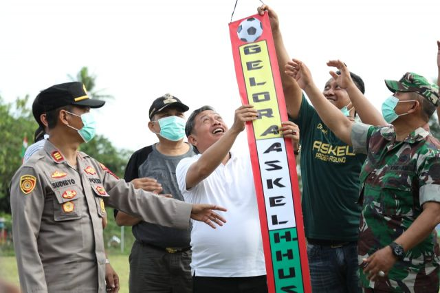 Peresmian Lapangan Sepakbola H. Husen Oleh Wakil Walikota Serang