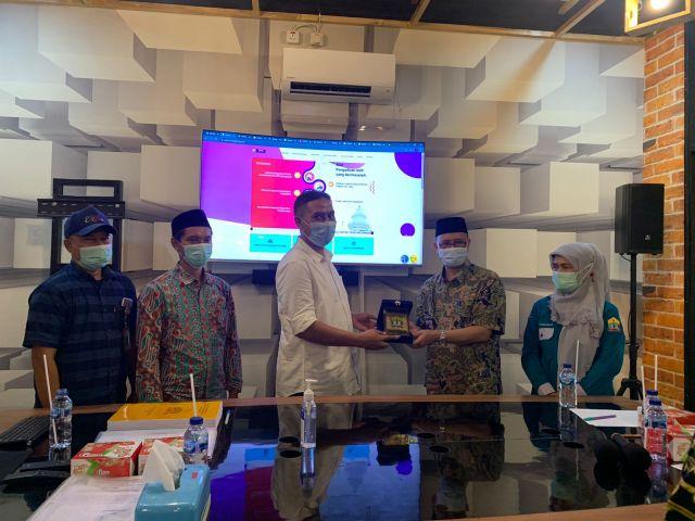 Komisi Informasi Publik Provinsi Banten lakukan Kunjungan MONEV ke Diskominfo Kota Serang