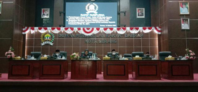 Jawaban Atas Pandangan Umum Fraksi-fraksi DPRD Kota Serang Terhadap RPJMD Perubahan APBD T.A 2021