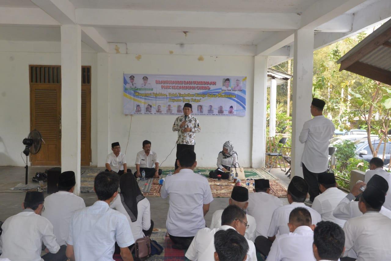 Silaturahmi Wakil Walikota Serang Bersama Staf Honorer Kelurahan