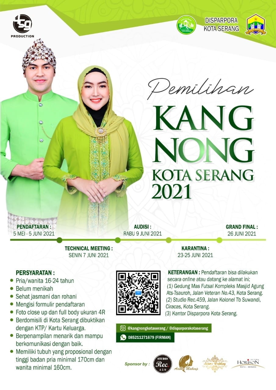 Pendaftaran Kang Nong Kota Serang 2021.