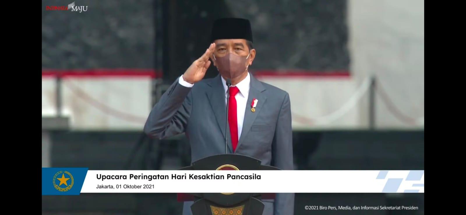 Upacara Peringatan Hari Kesaktian Pancasila Bersama Presiden Republik Indonesia