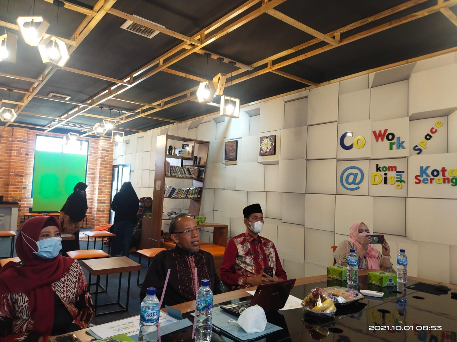 Konferensi Hak Anak KHA dan Sekolah Ramah Anak SRA bagi Guru dan Tenaga Pendidikan Kota Serang.