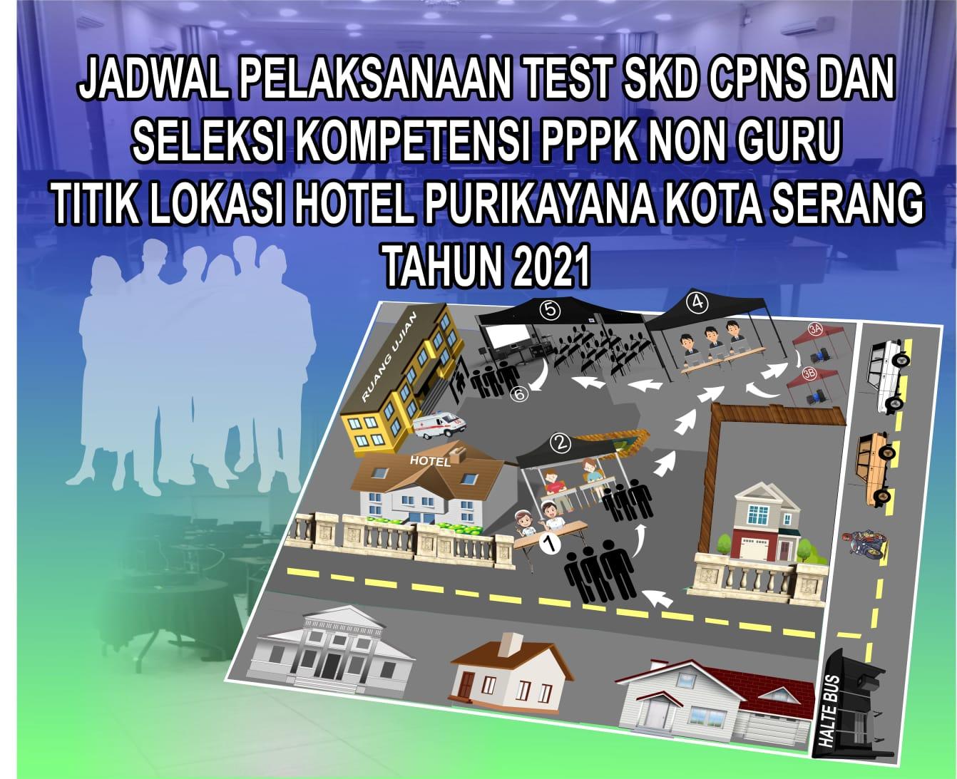 PENGUMUMAN JADWAL TEST SKD CASN DAN PPPK NON GURU TAHUN 2021 SUDAH KELUAR