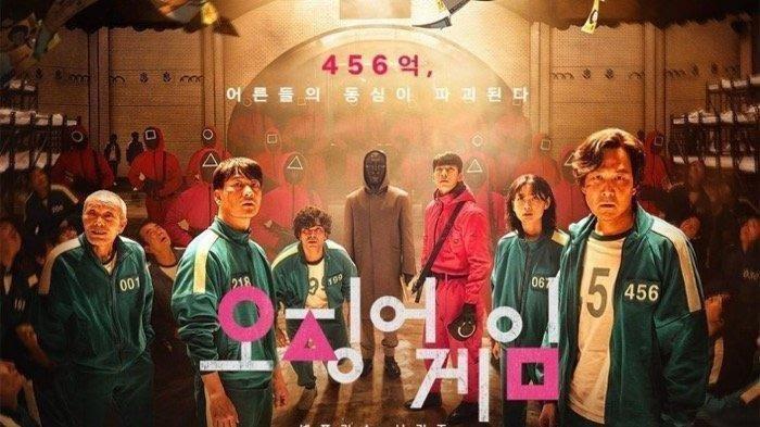 """Serial TV Korea Selatan, """"Squid Game"""" Menjadi Trending Topik Dibeberapa Negara. Ini Alasannya"""