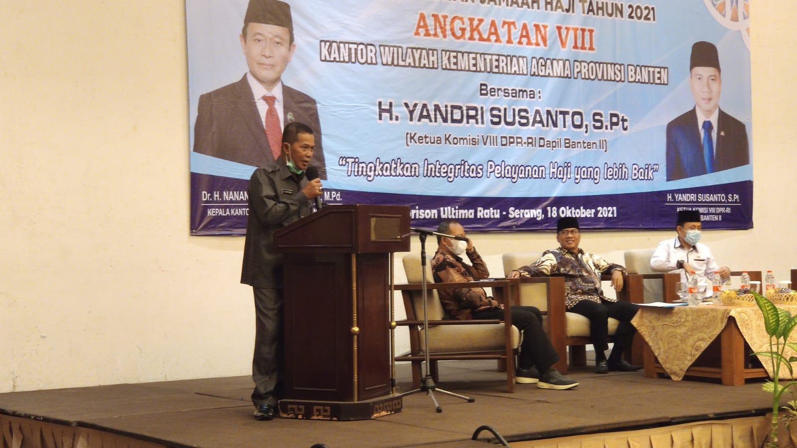 2022 diharapkan warga Kota Serang bisa berangkat Haji.